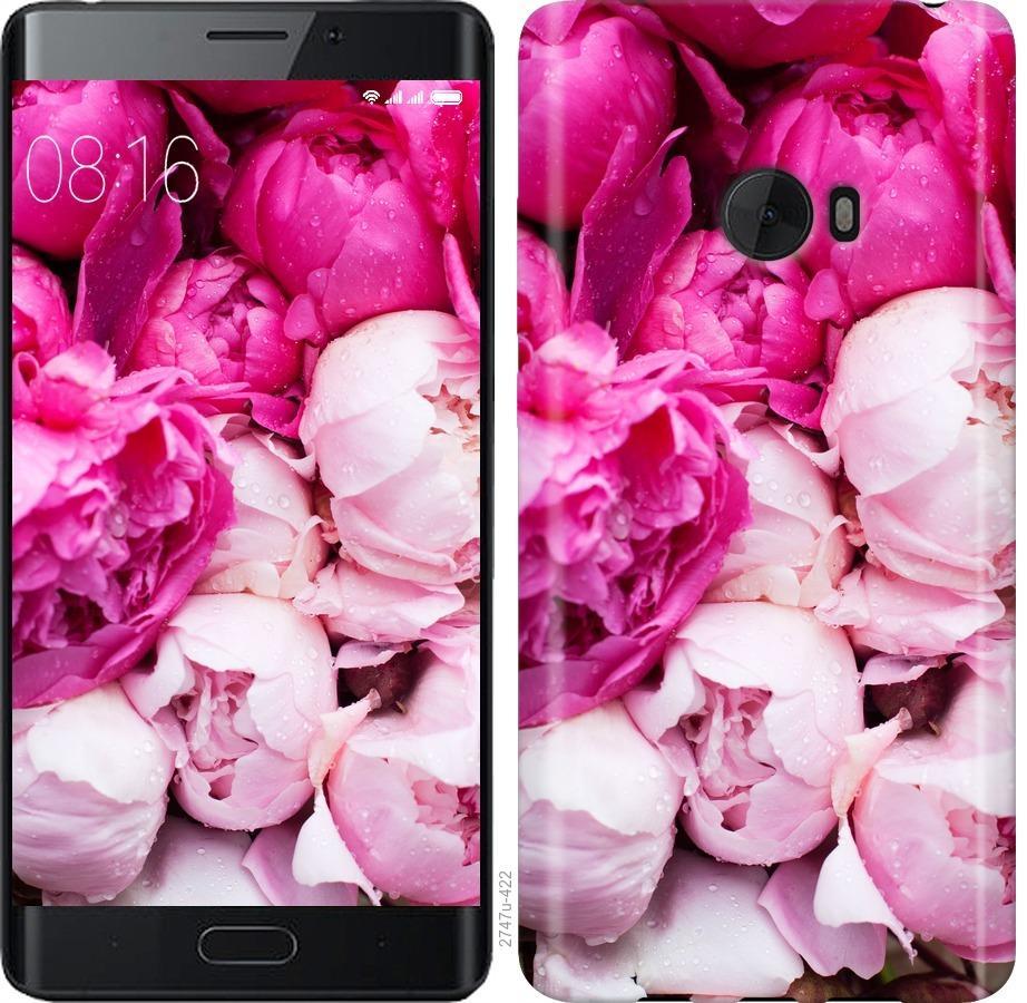 Чехол на Xiaomi Mi Note 2 Розовые пионы