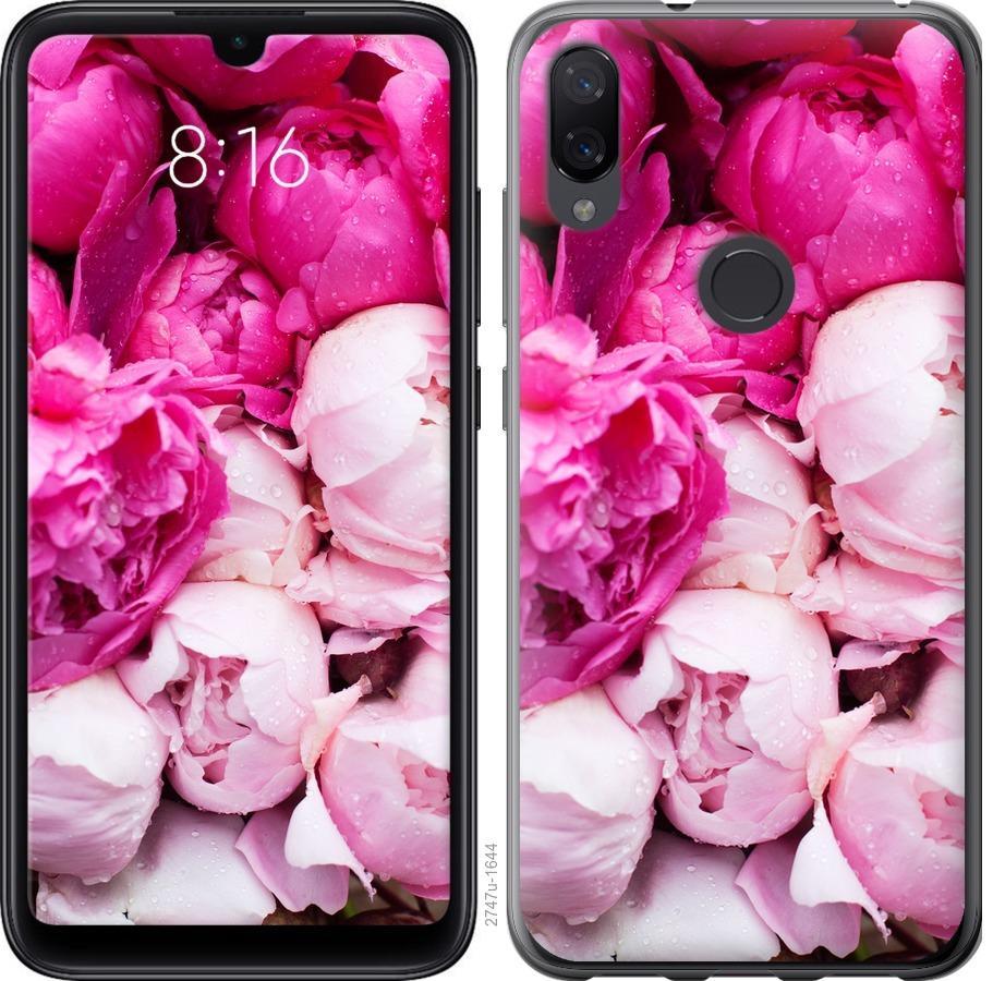 Чехол на Xiaomi Mi Play Розовые пионы