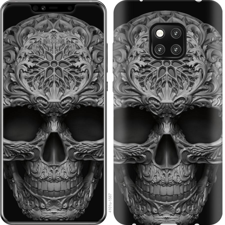 Чехол на Vivo V17 skull-ornament