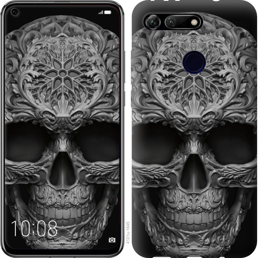 Чехол на Huawei Honor View 20 skull-ornament