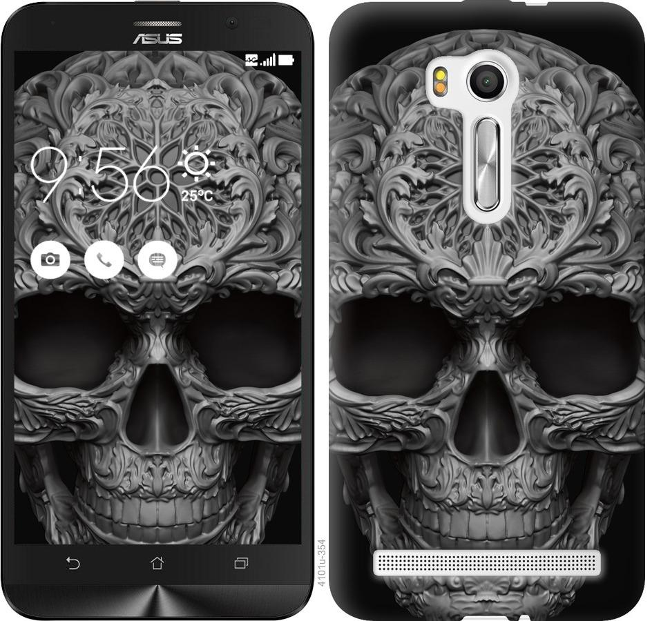 Чехол на Asus ZenFone Go TV ZB551KL skull-ornament