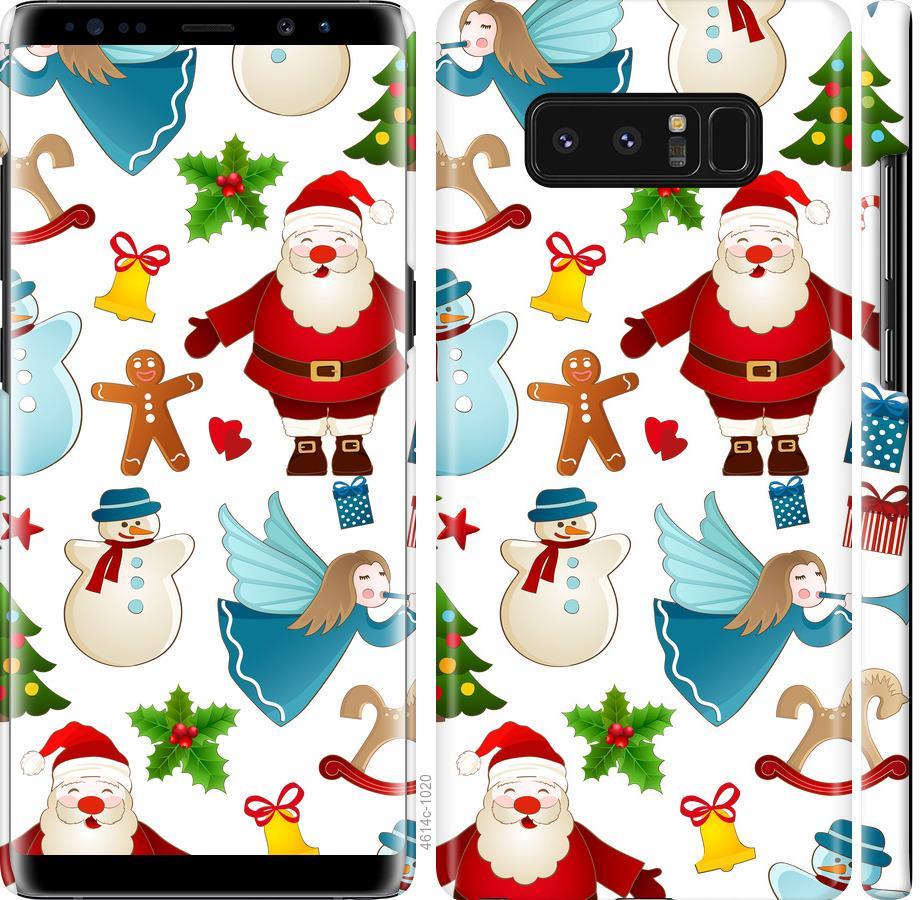 Чехол на Samsung Galaxy Note 8 Новогодний 1