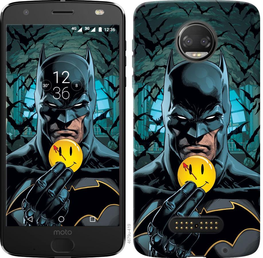 Чехол на Motorola Moto G5 PLUS Бэтмен 2