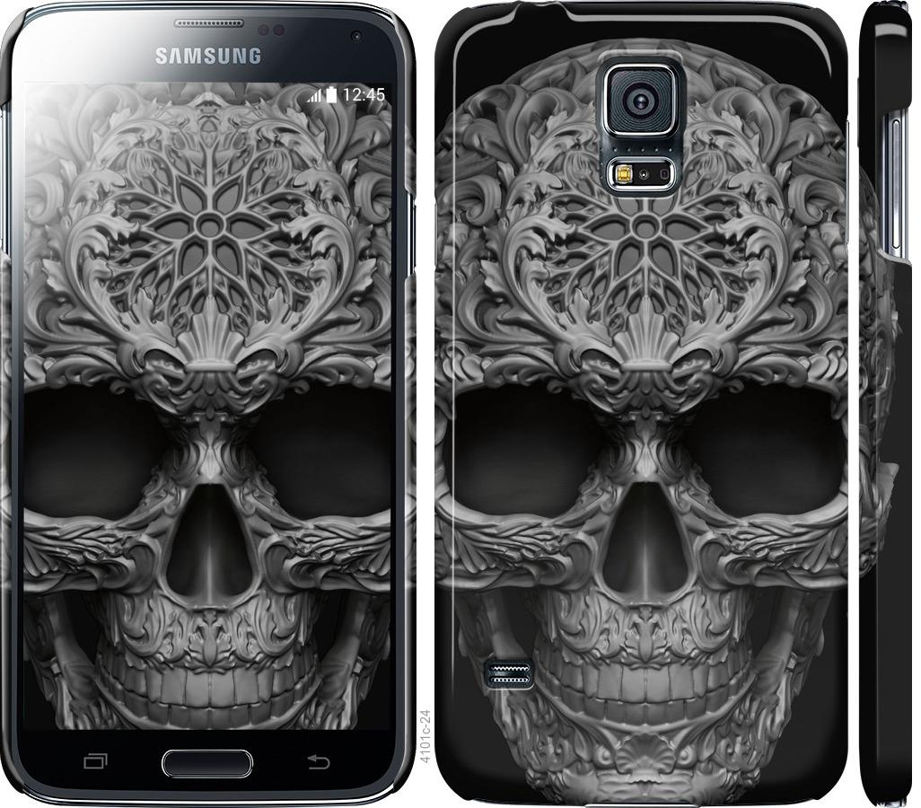 Чохол на Samsung Galaxy S5 g900h skull-ornament