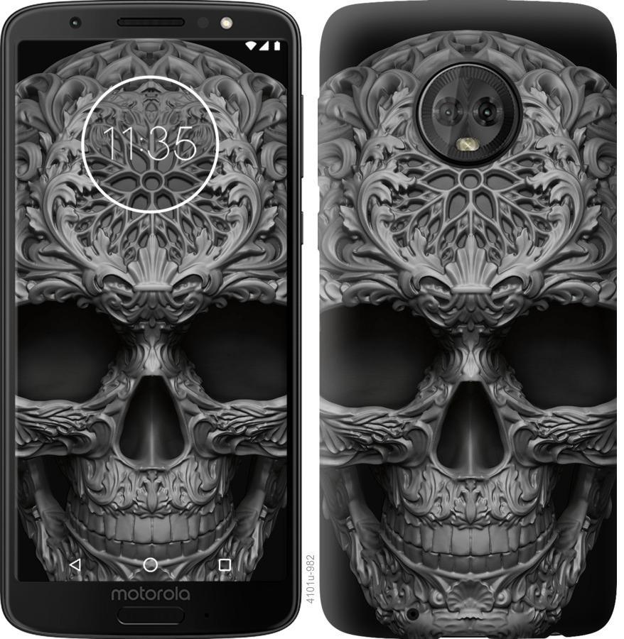 Чохол на Motorola Moto G6 skull-ornament