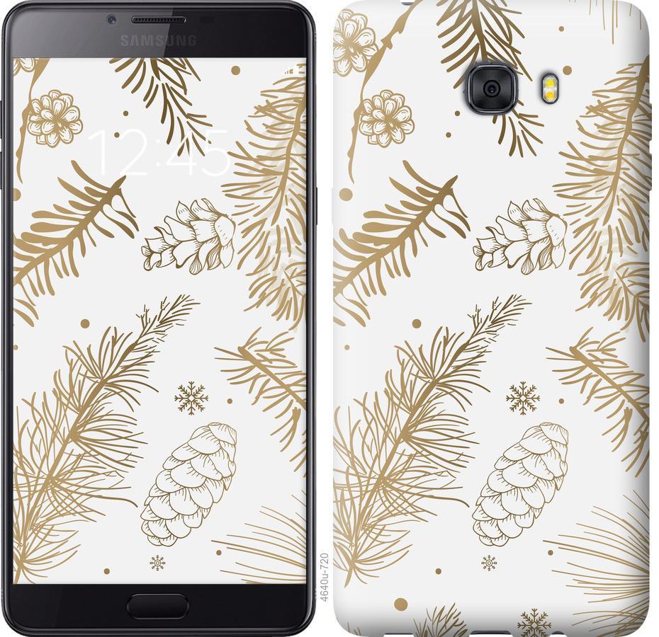 Чехол на Samsung Galaxy C9 Pro Зимний