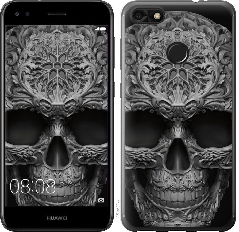 Чехол на Huawei P9 Lite mini skull-ornament