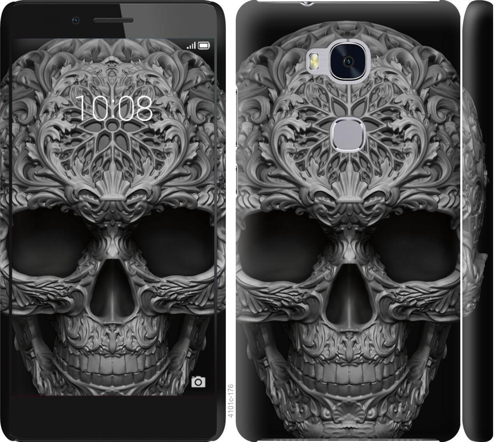 Чехол на Huawei Honor 5X skull-ornament