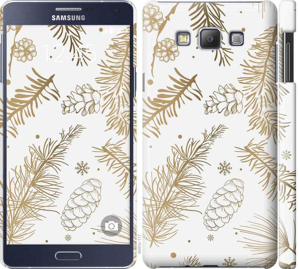 Чехол на Samsung Galaxy A7 A700H Зимний