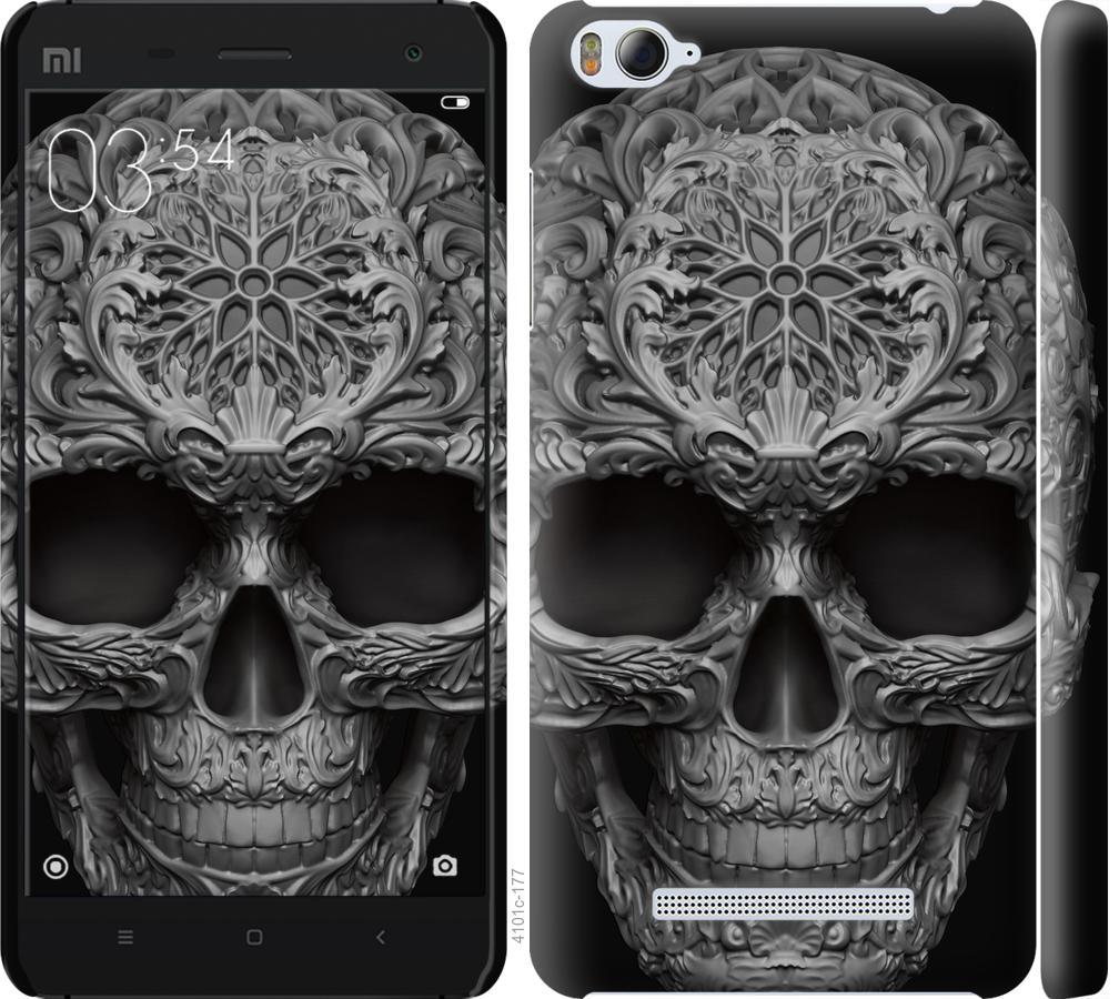 Чехол на Xiaomi Mi4i skull-ornament
