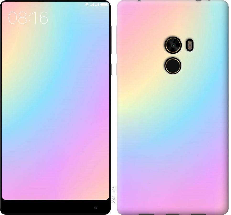Чехол на Xiaomi Mi MiX Радуга 2