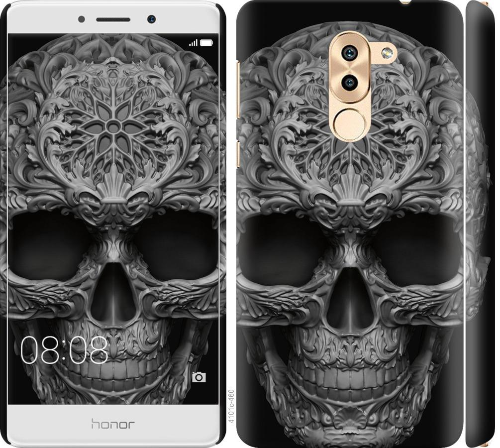 Чехол на Huawei Mate 9 Lite skull-ornament