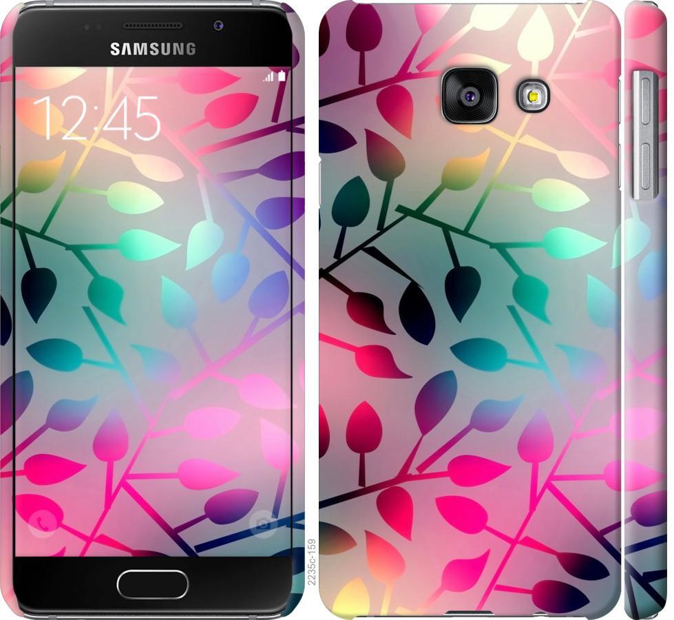 Чехол на Samsung Galaxy A3 (2016) A310F Листья
