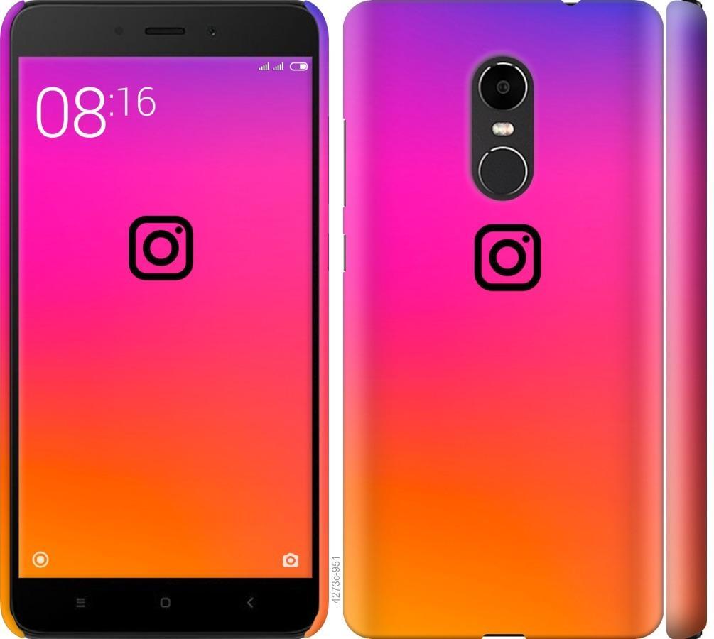 Чехол на Xiaomi Redmi Note 4X Instagram