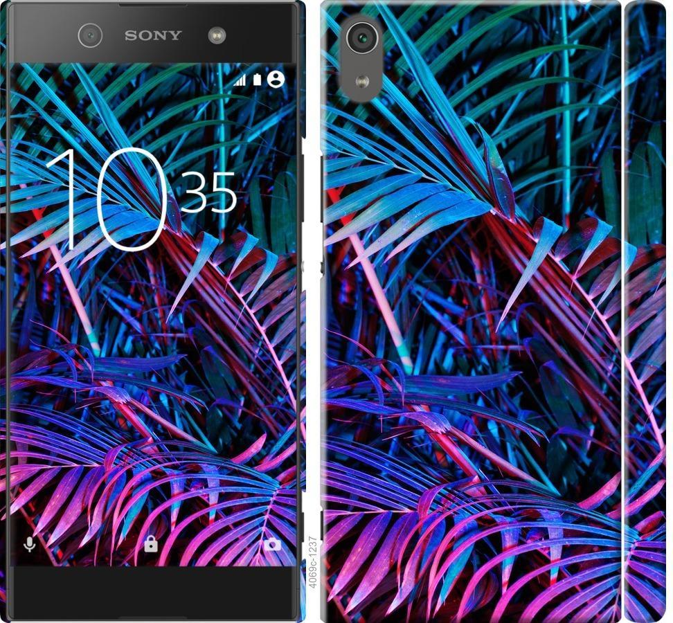 Чохол на Sony Xperia XA1 Ultra G3212 Папороть під ультрафіолетом