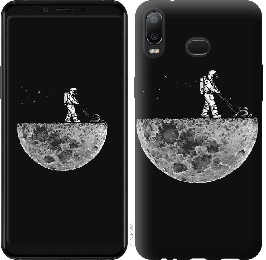 Чохол на Samsung Galaxy A6s Moon in dark