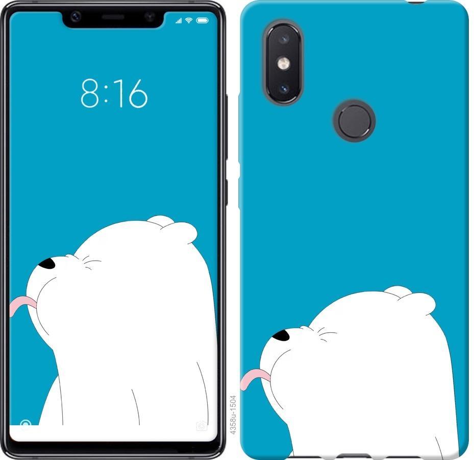 Чехол на Xiaomi Mi8 SE Мишка 1