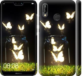 Чехол на Huawei P20 Lite Бабочки