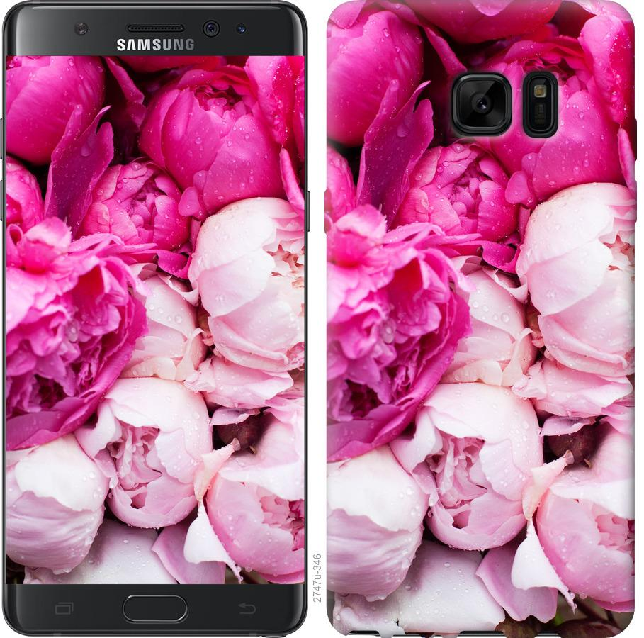 Чохол на Samsung Galaxy Note 7 Duos N930F Рожеві півонії
