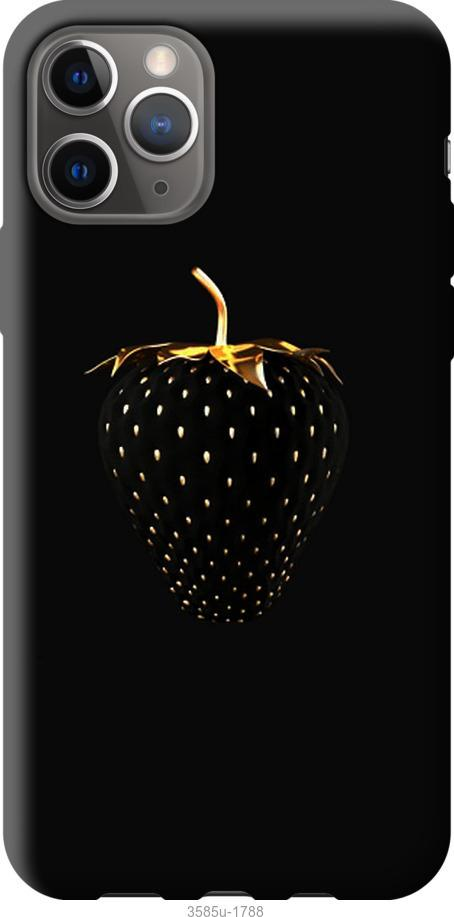 Чехол на Google Pixel 4 Черная клубника