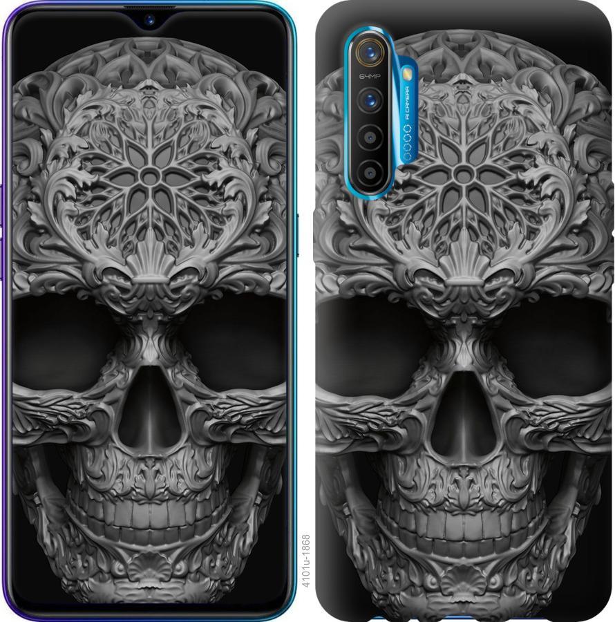 Чехол на Realme XT skull-ornament