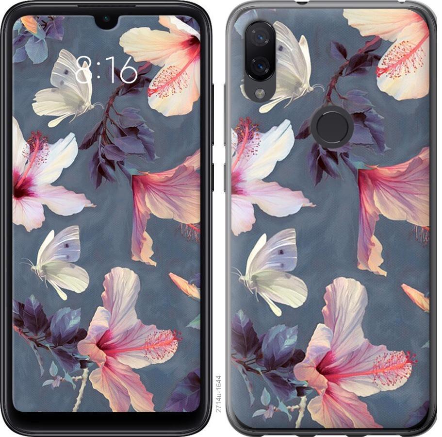 Чехол на Xiaomi Mi Play Нарисованные цветы