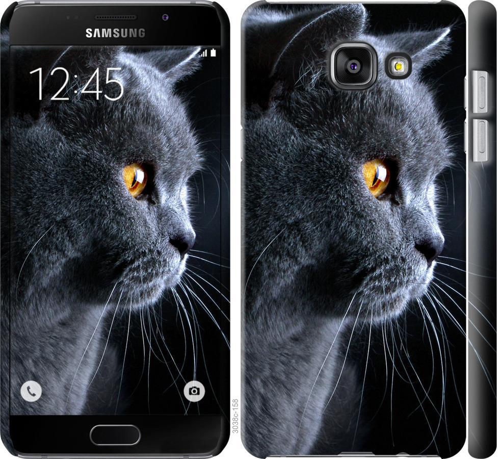 Чехол на Samsung Galaxy A5 (2016) A510F Красивый кот