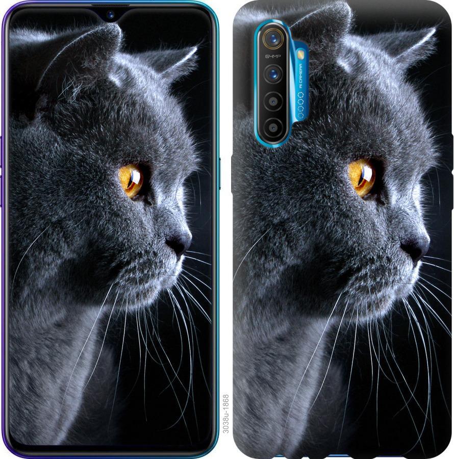 Чехол на Realme XT Красивый кот