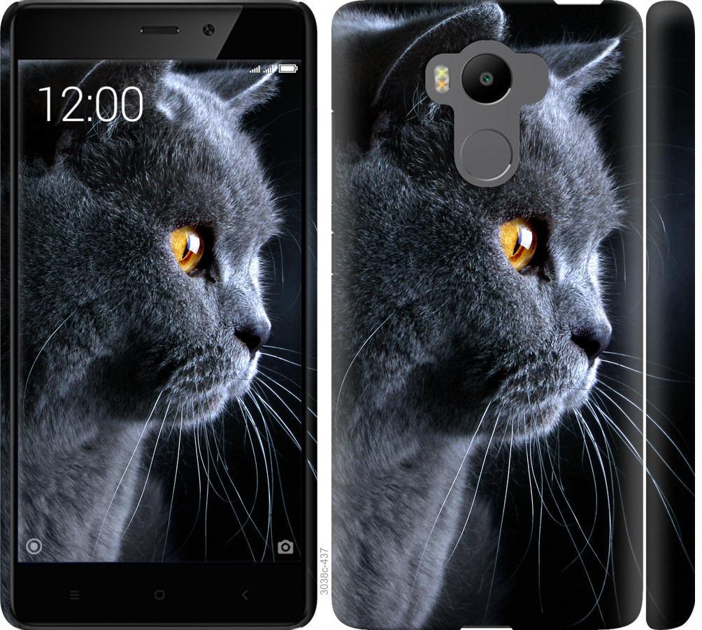 Чохол на Xiaomi Redmi 4 pro Гарний кіт