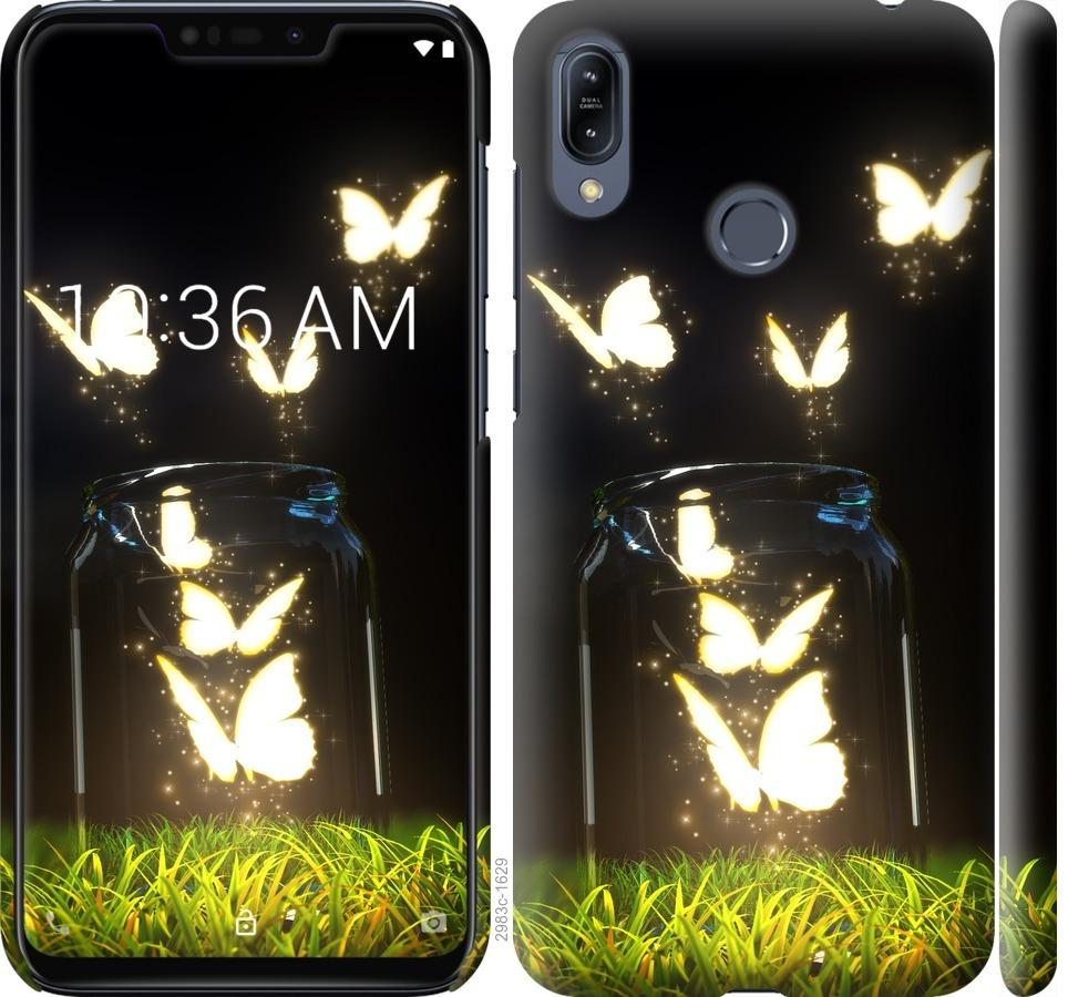 Чехол на Asus Zenfone Max M2 ZB633KL Бабочки