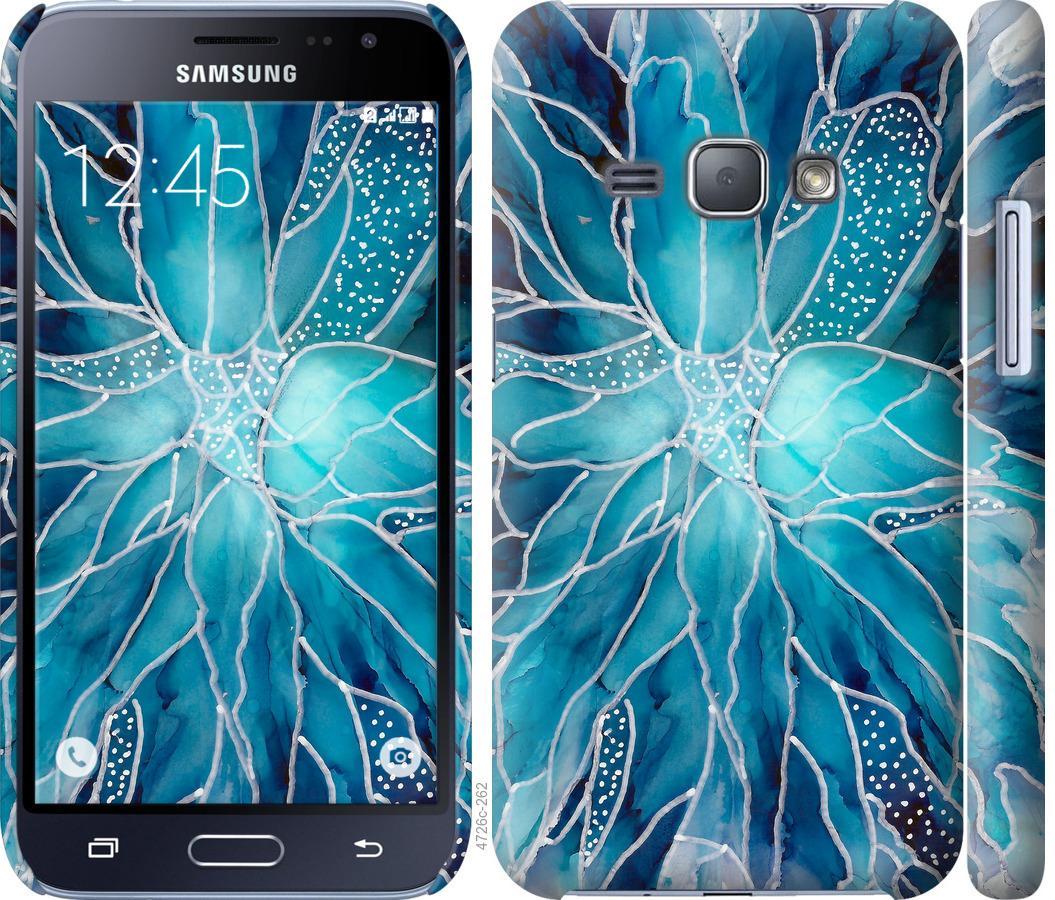 Чехол на Samsung Galaxy J1 (2016) Duos J120H чернило