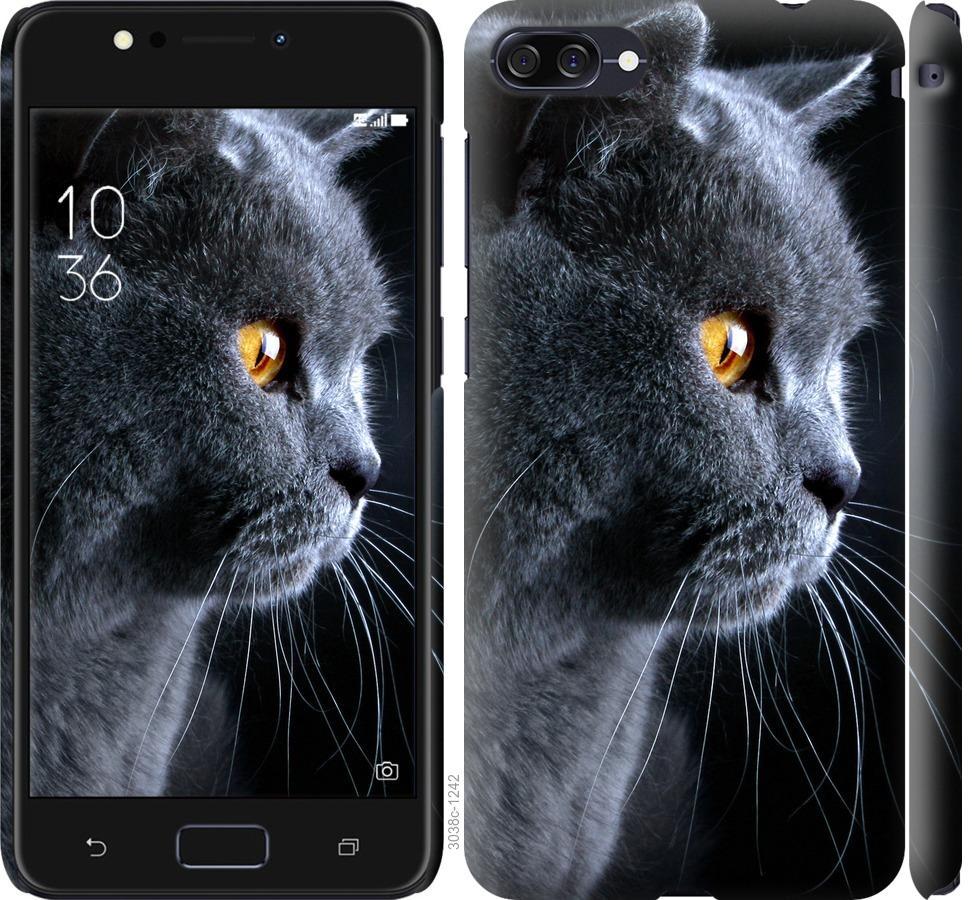 Чехол на Asus ZenFone 4 Max ZC520KL Красивый кот