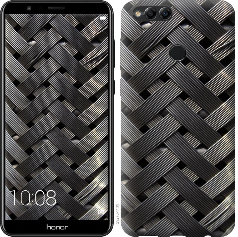 Чехол на Huawei Honor 7X Металлические фоны