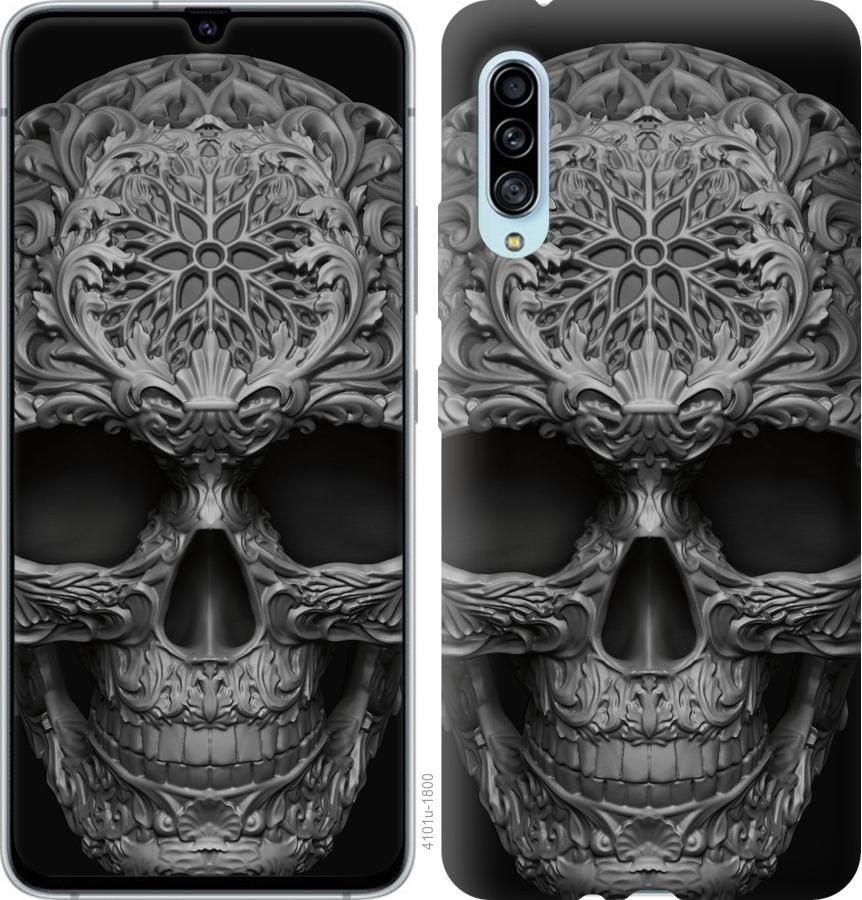 Чехол на Samsung Galaxy A90 5G skull-ornament