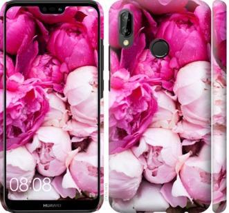 Чехол на Huawei P20 Lite Розовые пионы