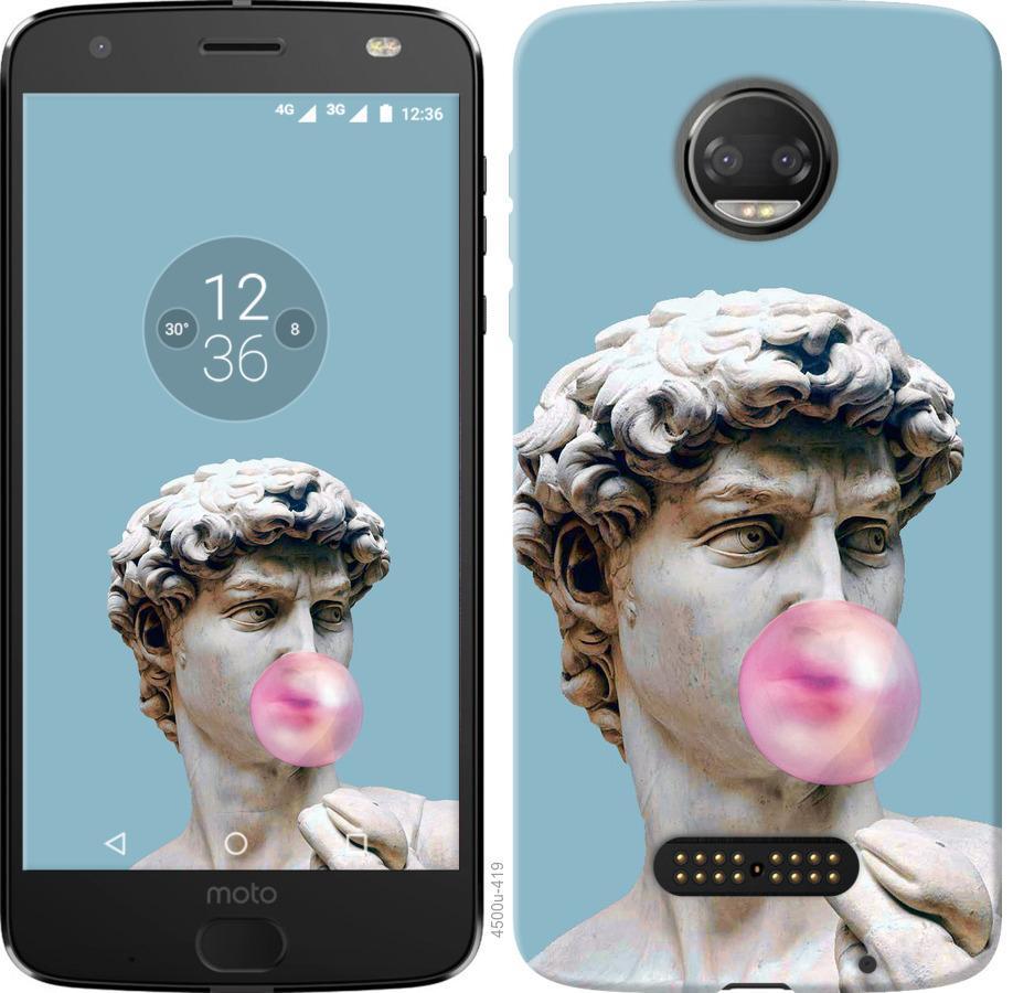 Чохол на Motorola Moto G5 PLUS Мікеланджело