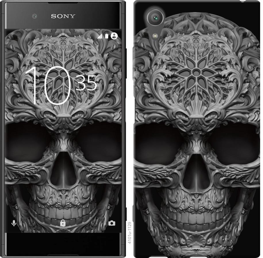 Чехол на Sony Xperia XA1 Plus G3412 skull-ornament