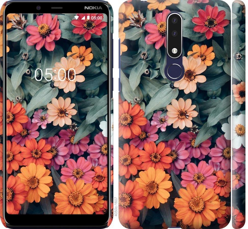 Чехол на Nokia 3.1 Plus Beauty flowers