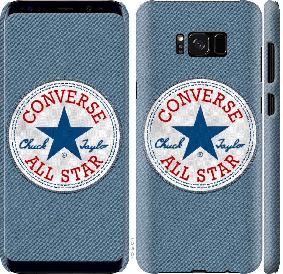 Чехол на Samsung Galaxy S8 Converse. All star
