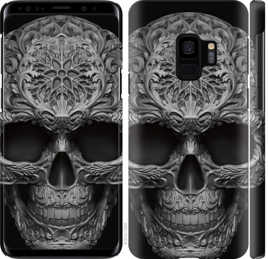 Чехол на Samsung Galaxy S9 skull-ornament