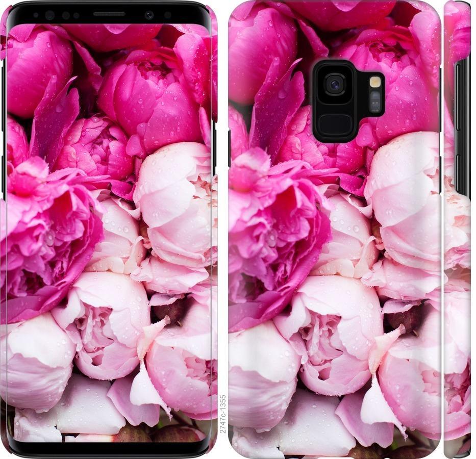 Чехол на Samsung Galaxy S9 Розовые пионы