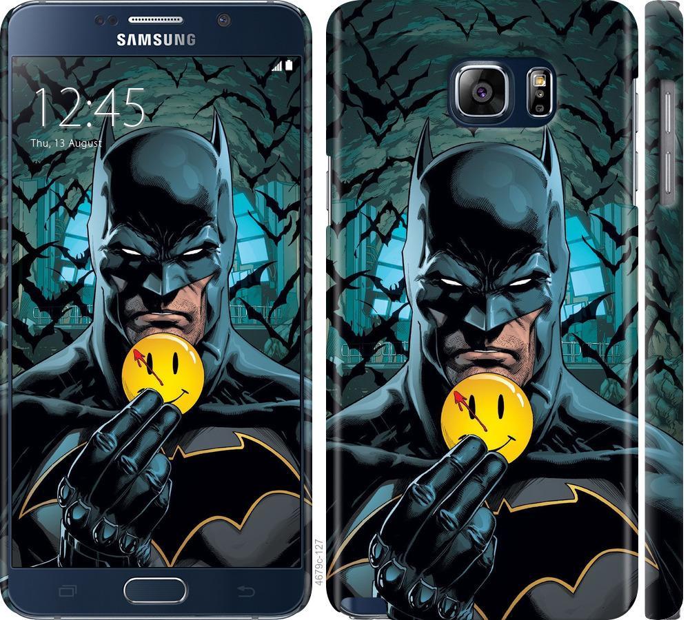 Чехол на Samsung Galaxy Note 5 N920C Бэтмен 2