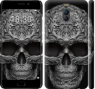 Чехол на Meizu M6 Note skull-ornament