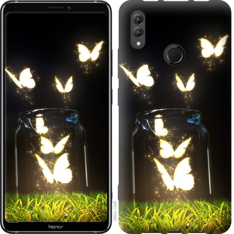 Чехол на Huawei Honor Note 10 Бабочки