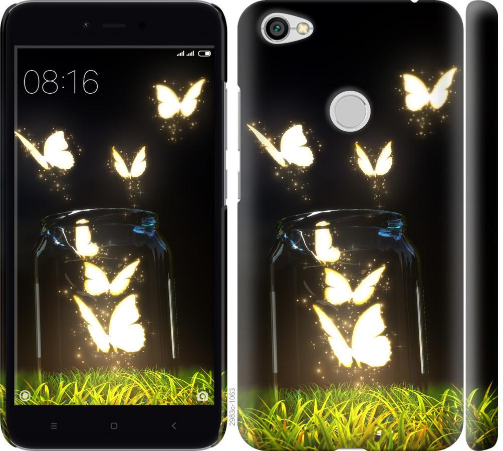 Чехол на Xiaomi Redmi Note 5A Prime Бабочки
