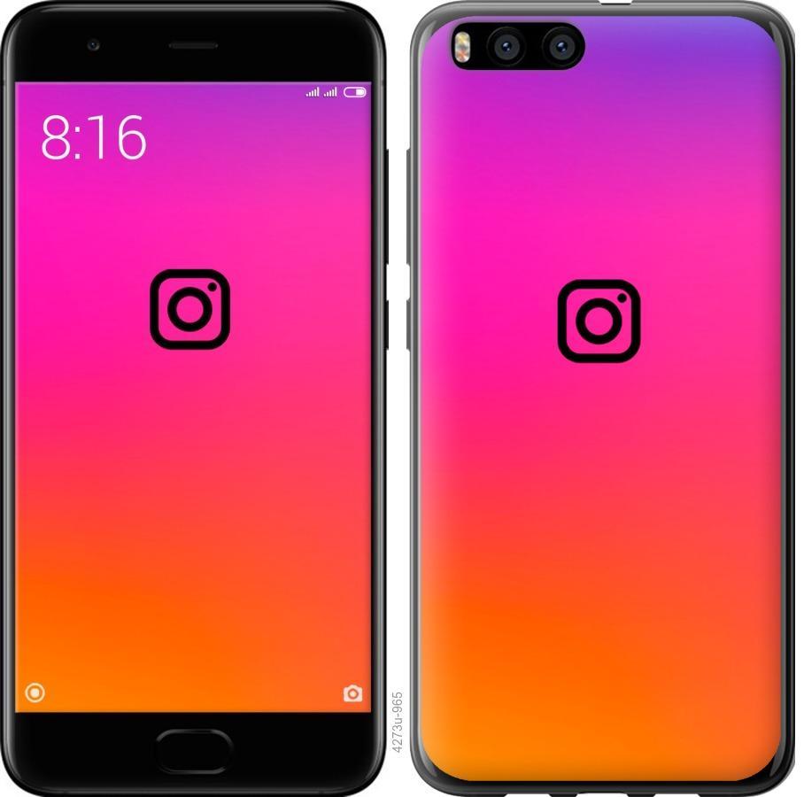 Чехол на Xiaomi Mi Note 3 Instagram