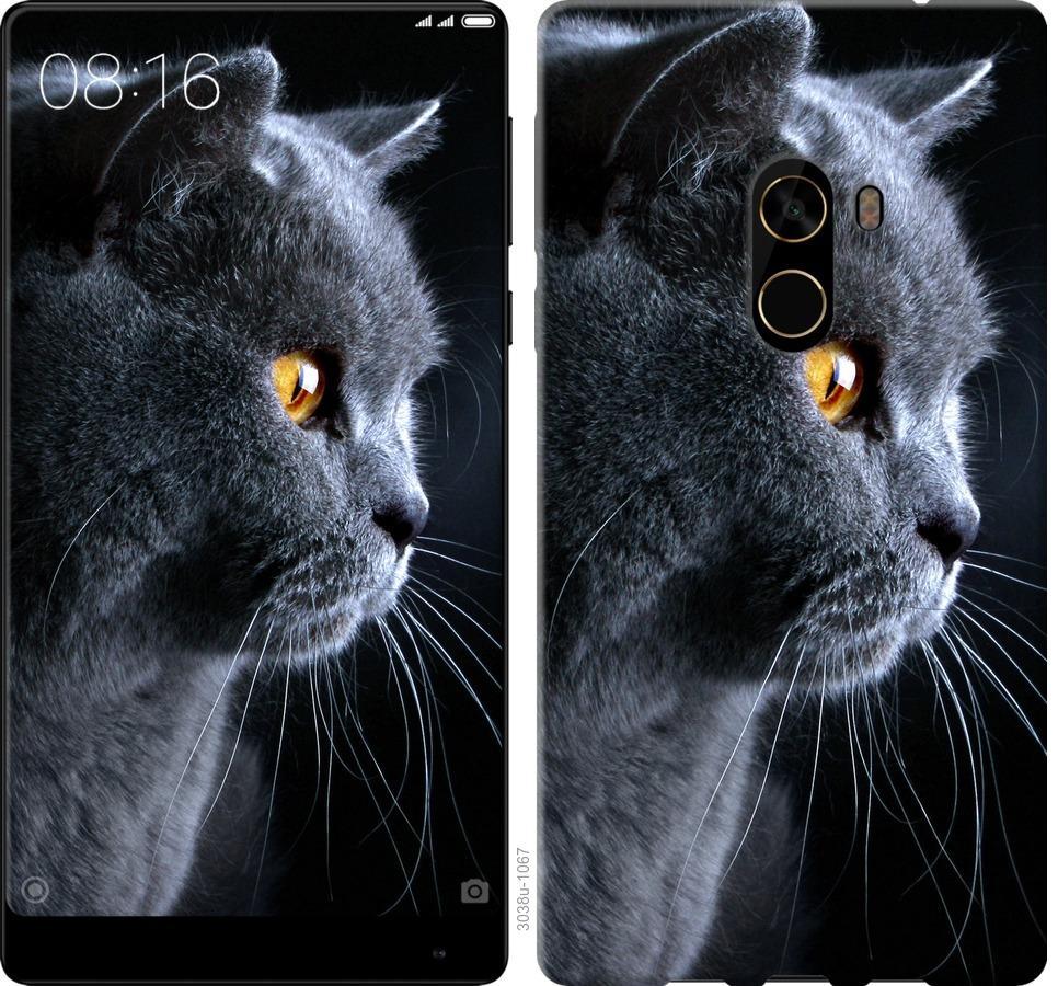 Чехол на Xiaomi Mi MiX 2 Красивый кот