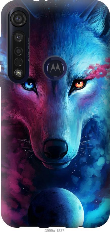 Чехол на Motorola G8 Plus Арт-волк