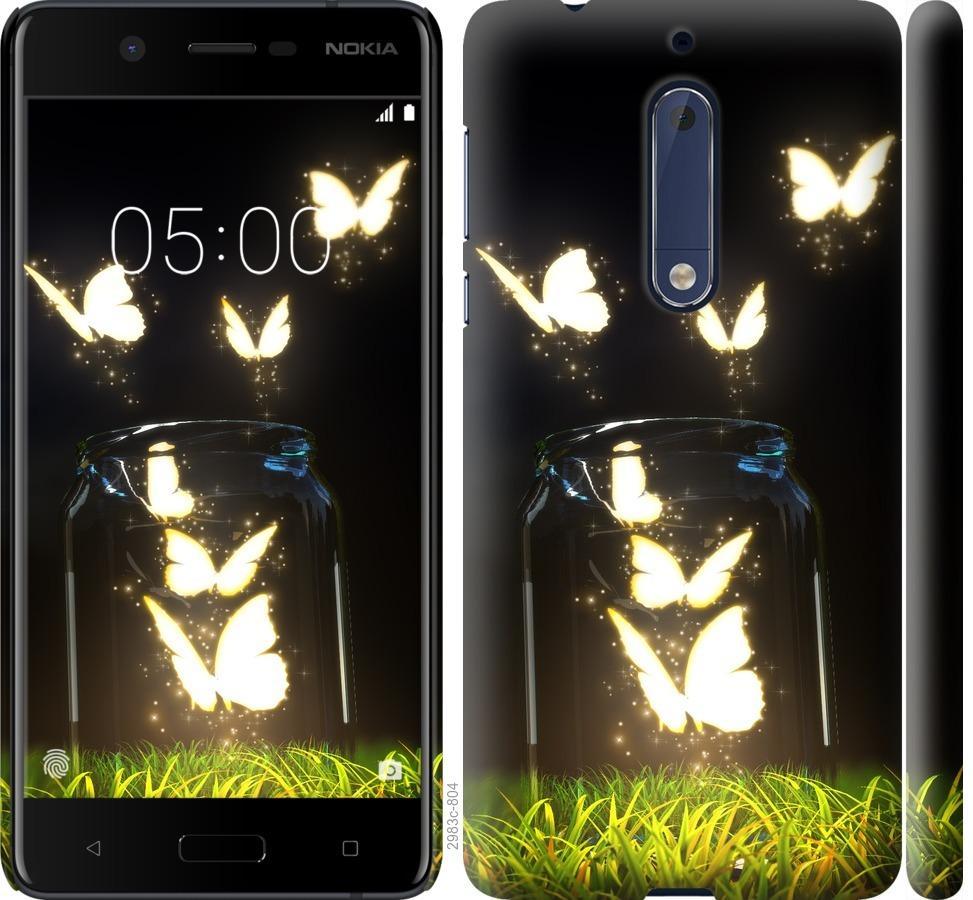 Чехол на Nokia 5 Бабочки