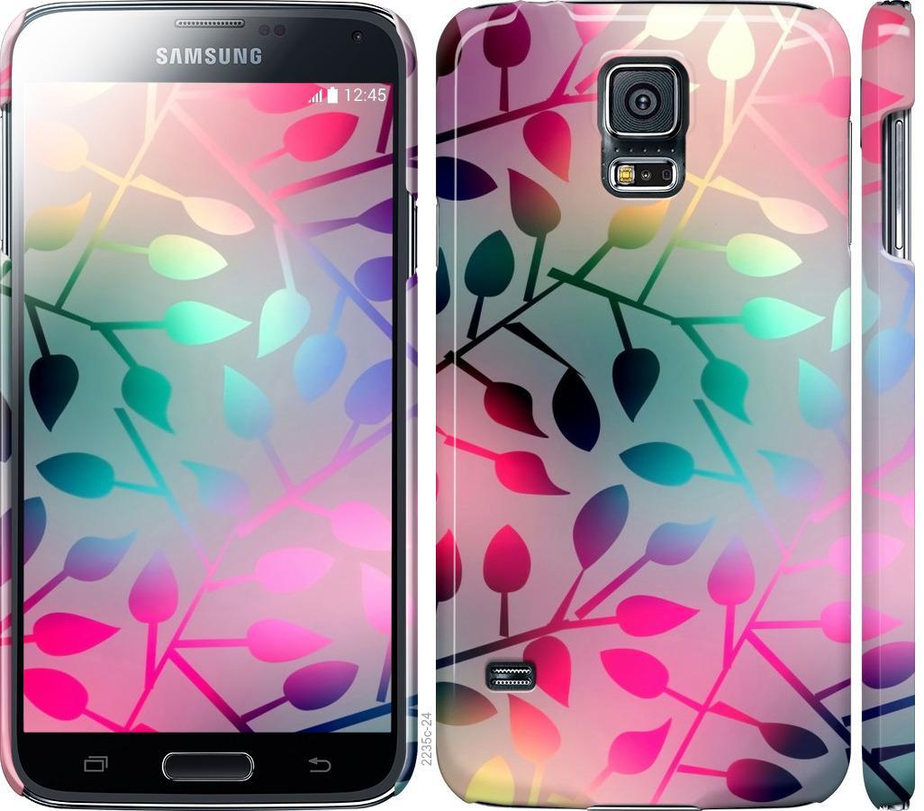 Чохол на Samsung Galaxy S5 g900h  Листя
